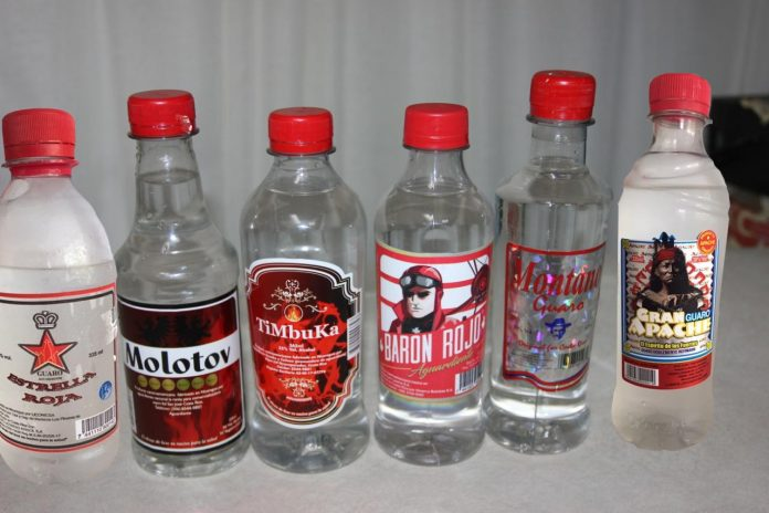 Poisoned alcohol brands